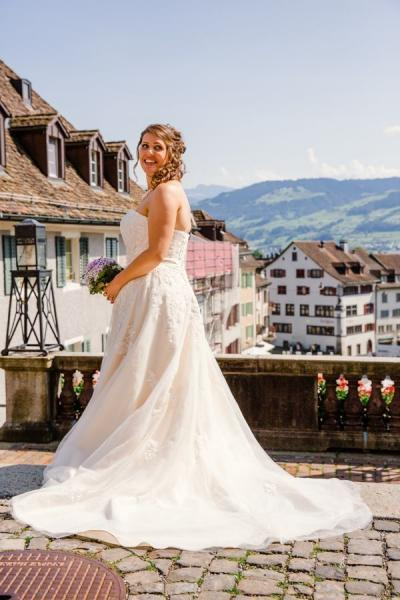 Heiraten in Rapperswil Braut