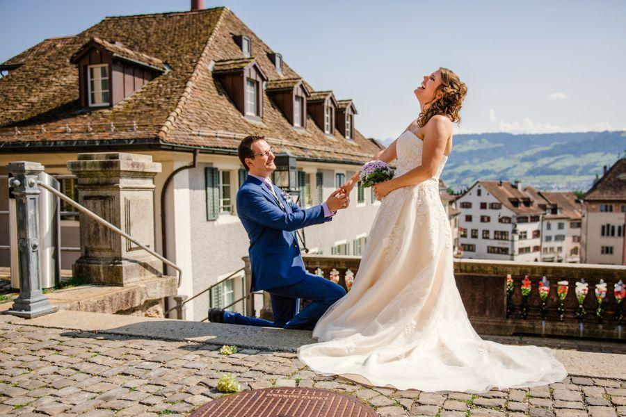 Heiraten in Rapperswil Brautpaar