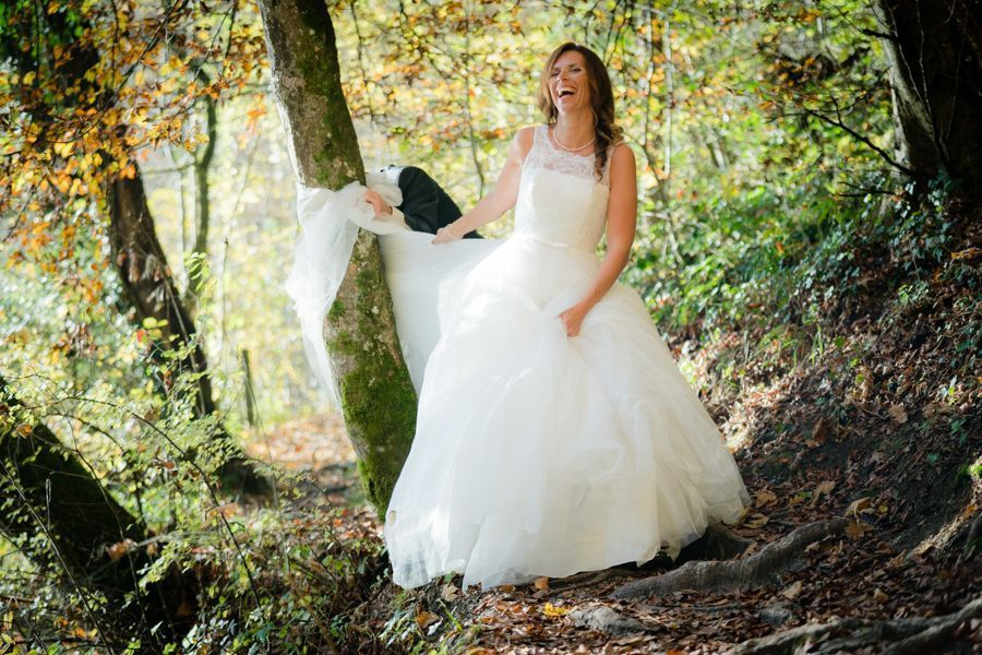 Trash the Dress Shooting Braut